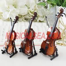 miniature violin cello toy for christmas ornament