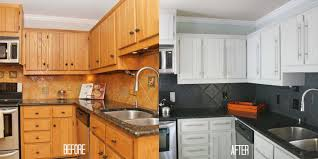 How To Remodel Kitchen Cabinets Our Budget Kitchen Remodel Reveal Part 1 Designer Trapped In A