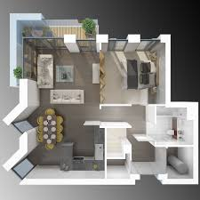 3d floor plan vray and 3ds max render projects to try