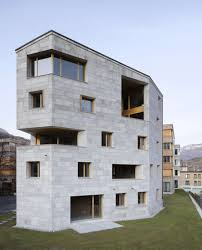 southwest architecture the apartment building hans jürg buff forms the southwest end of
