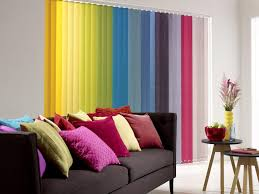 decorations brilliant colorful window curtain ideas for small
