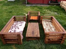 Diy Wood Pallet Outdoor Furniture by Wood Pallet Garden Furniture Set 99 Pallets