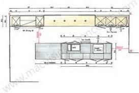 plan de cuisine avec ilot central charmant cuisine avec ilot central et table 13 r233novation de