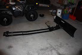 polaris rear hitch mount plow polaris atv forum