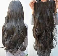 clip in hair extensions uk one wavy clip in hair extensions 1b black