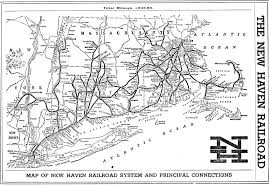 Metro North New Haven Line Map by Fantasy Map Passenger Rail System For Connecticut Connecticut