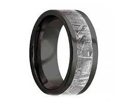 kif wedding band gibeon meteorite etsy