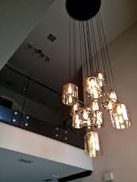 Blown Glass Mini Pendant Lights by Furniture Decor And Tips Mouth Blown Glass Chandelier For Modern