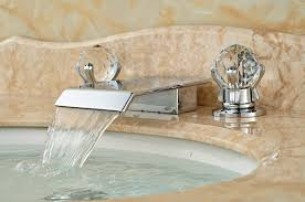 Polished Gold Bathroom Faucets by Compare Prices On Crystal Bathroom Faucet Online Shopping Buy Low