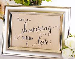 wedding gift table sign baby shower gift table sign sorepointrecords