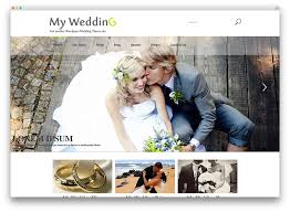 wedding websites search 8 beautiful and free wedding themes beau magazine