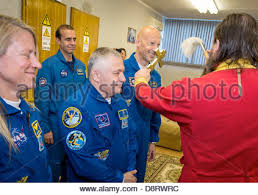 iss expedition 37 crew members are welcomed onboard the zvezda