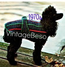 crochet pattern for dog coat dog coat crochet pattern instant download pdf pattern