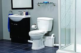 bathroom contemporary design of saniflo toilet for chic bathroom
