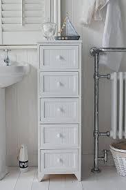 White Wood Free Standing Bathroom Storage Cabinet Unit by Bathroom Cabinet Unit Storage White Wood Cupboard Free Standing