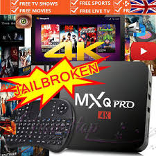 android box jailbroken 2017 mxq pro m8s android 6 0 smart tv box 4k k17 1 live sports