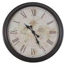 cheap wall clocks amazoncom bernhard products black wall clock