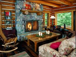 Interior Log Home Pictures Log Home Interior Design