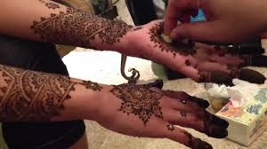 moroccan bridal henna youtube