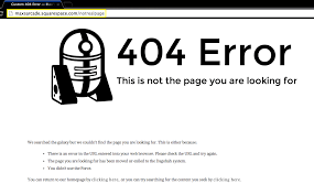 squarespace help creating a custom 404 error page