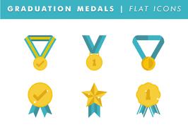 graduation medals graduation medals vector free vector in ai eps svg
