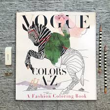 color book com the making of vogue colors a z coloring book a production tale