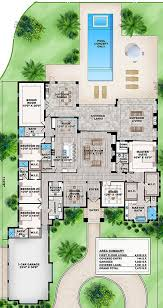 5 bedroom house plan house plan 207 00035 contemporary plan 4 918 square 5