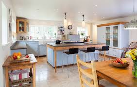 ideas for country kitchens decorations farmhouse country kitchen with teak dining set also