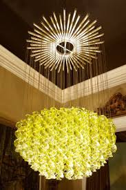 Yellow Light Fixture Exceptional Venetian Blow Glass Pendant Light Fixture For Sale At