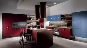 kitchen kitchen lighting ideas crucial design element kitchen kitchen kitchen lighting in ceiling island red backsplash bar stools brown granite countertop blue cabinet