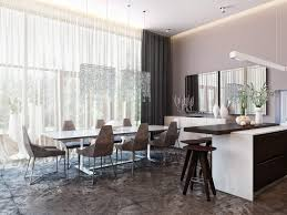 Dining Room Curtains Modern Dining Room Curtains For Top Contemporary Wonderful Curtain