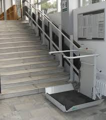 s7 sr inclined platform stair lift u003e straight staircase wheelchair
