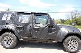 new jeep concept truck jl wrangler to start production in november 2017 jt wrangler