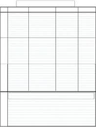 free homeschool schedule blank 5 day schedule template by susie