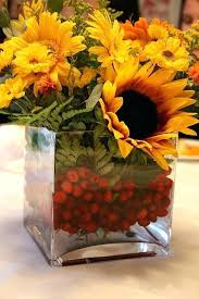 sunflower centerpiece sunflower floral arrangements eatatjacknjills