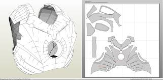 iron man mk iii full armor foam pepakura eu
