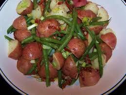 italian potato and green bean salad youtube