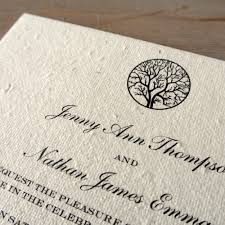 wedding invitation paper wedding invitations paper seeded paper wedding invitations white
