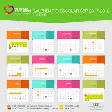 calendario escolar argentina 2017 2018 calendario oficial sep 2017 2018 educación y cultura az