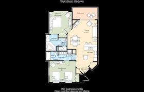 villas of sedona floor plan wyndham sedona