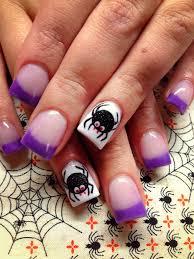 halloween nail art spider nails nail u0027s my own designs