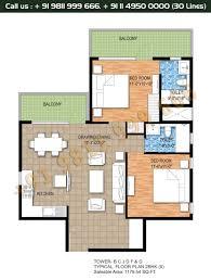 2bhk floor plan floor plan raheja maheshwara sohna south gurgaon