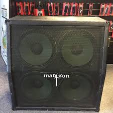 guitar speaker cabinets used madison 412a cab guitar speaker cabinet 4 x 12 guitar speaker