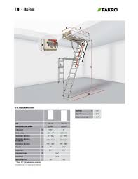metal attic ladders owm lms lml lux fakro