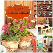Patio And Porch Furniture by Outdoor Patio And Garden Make From 100 Recycled Junk Hometalk