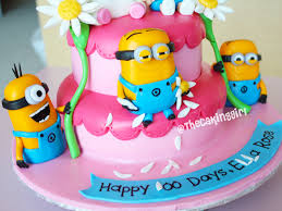Minion Cake Decorations Thecakinggirl How To Make Minion Figurines Tutorial Minion