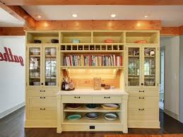 cookbook shelf ideas kitchen traditional with glass front cabinets