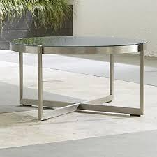 Black Glass Coffee Table Black Glass Coffee Tables Crate And Barrel