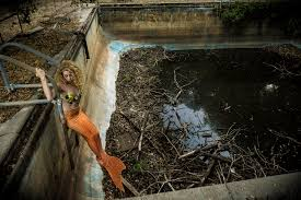mermaid photo shoot with lisa honda indigo children