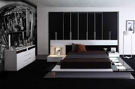 ModernContemporary Lacquer Platform Bed - Contemporary platform bedroom sets